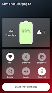 screenshot of Ultra Fast Charging 5X version 2.10