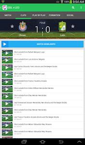 screenshot of Univision Deportes version 8.0607