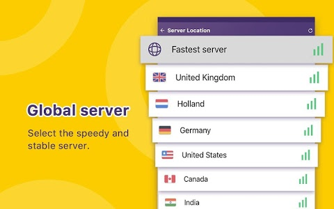 screenshot of Unlimited Free VPN Monster - Fast Secure VPN Proxy version 1.4.7