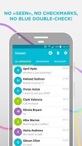 screenshot of Unseen - No Last Seen version 2.3.4