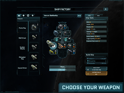 screenshot of VEGA Conflict version 1.84617