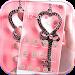 Pink Love Lock Theme Valentine
