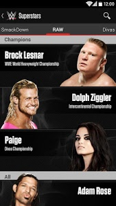 screenshot of WWE version 3.6.1