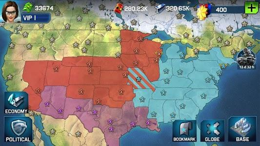 screenshot of War Planet Online: Global Conquest version 1.9.1b