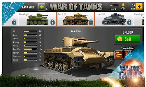 Download War of Tanks 1.1.25 APK