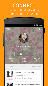 screenshot of Wattpad ? Stories you'll love version Varies with device