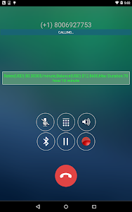screenshot of WePhone - free phone calls version 8.88.88