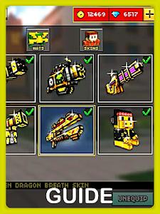 screenshot of Weapon Guide for Pixel Gun 3D version 1.0.1