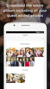 screenshot of WedShoots - Wedding Photo Sharing version 2.3.15
