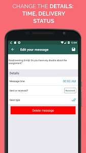 Download WhatsFake Pretend Fake Chats 2.8 APK