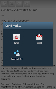 screenshot of Word To Text version 1.05