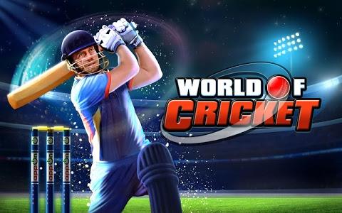 screenshot of World of Cricket version 5.0