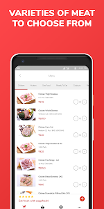 screenshot of Raw Chicken, Mutton, SeaFood, Meat Ordering App version 1.11.11