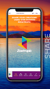 screenshot of Zoetropic (free) - Photo in motion version 1.5.72-free
