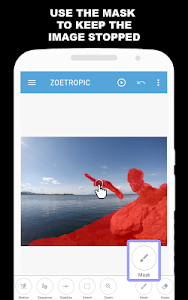 screenshot of Zoetropic (free) - Photo in motion version 1.4.96-free