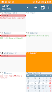 Download aCalendar - Android Calendar  APK