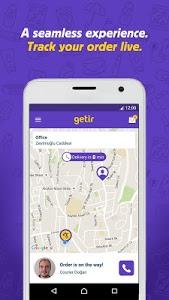 screenshot of getir version 1.1.10