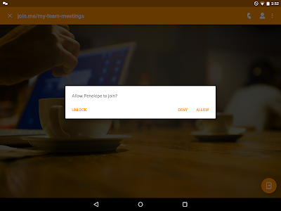 screenshot of join.me - Simple Meetings version 4.5.0.703