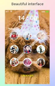 screenshot of lock screen photo pattern version 1.48