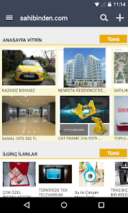 screenshot of sahibinden.com version 3.4.0