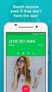 screenshot of textPlus Free Text + Calls version 6.0.5