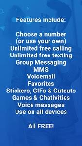screenshot of textPlus Free Text + Calls version 6.2.0